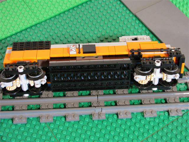 Moc Small Scale Diesel Loco Amp Layout Lego Train Tech